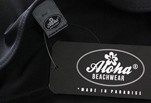 Aloha-Beachwear Damen Badeanzug A3006 Schwarz Gr. 38 -