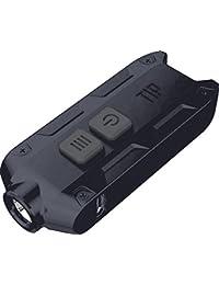 Nitecore TIP 360 Lumens USB Rechargeable Keychain Flashlight, Most Powerful Keychain Light in the World With Li-Ion Battery 500mAh High-Tech Keychain Light