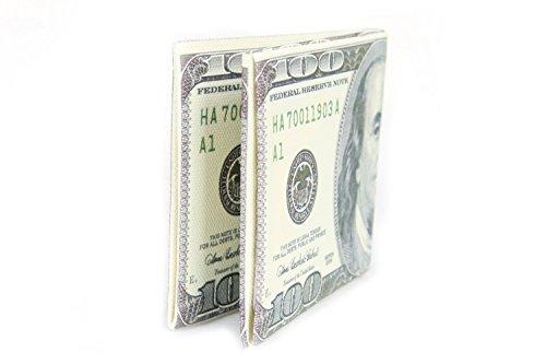 FreshGadgetz 1 Set di Portafoglio alla moda per banconote per signore e ragazze (RMB Small) USD piccolo