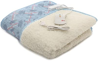 Ardes ARD.422 - Manta eléctrica para cama de matrimonio (60 + 60W, 100% lana)