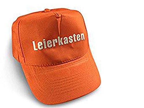 Preisvergleich Produktbild Original Sepp Bumsinger`s Leierkasten Cap in orange, verstellbare Größe