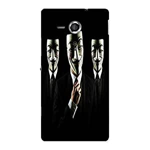 Unicovers Tri Face Back Case Cover for Sony Xperia SP