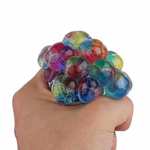Tiaobug Ball Stress Relief Trauben Squeeze Stressball Fidget Hand Handgelenk Spielzeug Antistress...