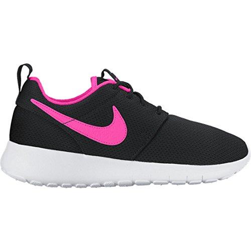 Nike Roshe One (GS), Scarpe da Corsa Bambino Rosa-Nero