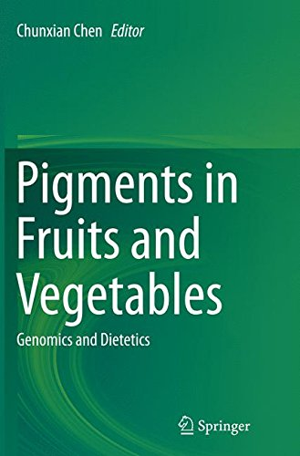 Pigments in Fruits and Vegetables: Genomics and Dietetics