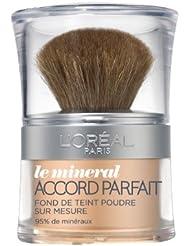 L'Oréal Paris Accord Parfait Minéral Fond de Teint Poudre 4D Beige Doré