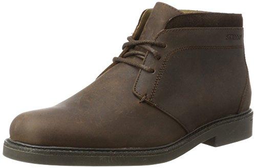 Sebago Herren Turner Chukka WP Boots, Braun (Dk Brown Leather WP), 41 EU (Hand Slip Leder Genäht)