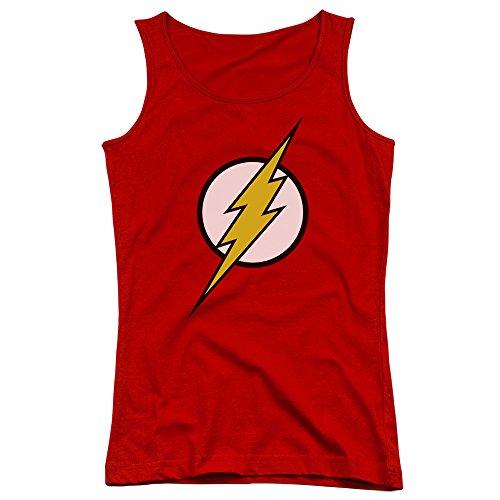 Justice League, motivo: Logo di Flash-Canottiera ragazzi Rosso rosso