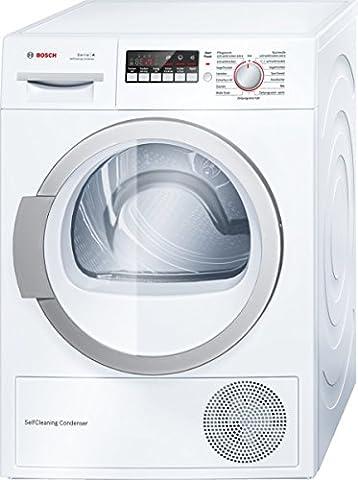 Bosch WTW86271 Wärmepumpentrockner / A++ / 8 kg / Weiß