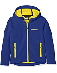 Black Crevice Chaqueta Soft Shell Azul / Amarillo 16 años (176 cm)