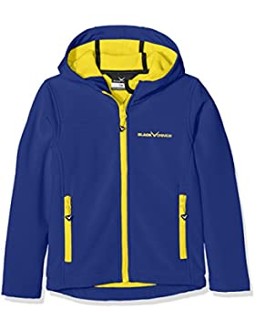 Black Crevice Chaqueta Soft Shell Azul / Amarillo 8 años (128 cm)