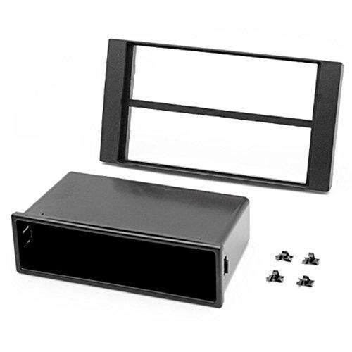 carav 10-001Doppel DIN Radio Stereo-Adapter DVD Dash Installation umgeben Trim Kit Schacht Trim Faszie mit 182* 53mm und 182* 114mm - 001 Stereo