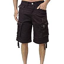 Para hombre Designer Zico Cargo Combat Pantalones cortos regular fit chino algodón 3colores Smart Bottoms Pantalones mjt-55