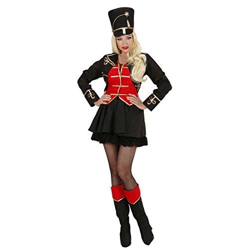 Kostüm Frauen Circus - NET TOYS Zirkusdirektorin Kostüm Dompteur Zirkuskostüm M 38/40 Dompteurin Zirkusuniform Zirkus Damenkostüm Jahrmarkt Damen Uniform Faschingskostüm Löwenbändiger Karnevalskostüme Frauen Sexy