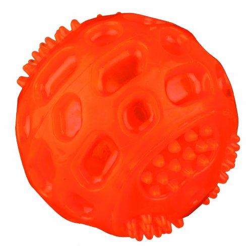 Trixie 33643 Blinkball, thermoplastisches Gummi (TPR), 6.5 cm, farblich sortiert