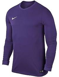 Nike LS YTH Park Vi JSY Camiseta, Unisex niños, Morado (Court Purple/