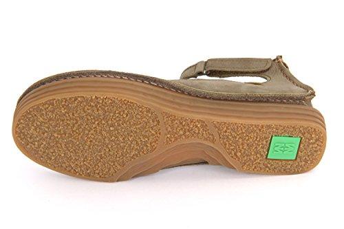 El Naturalista Rice Field NF87 kaki Damen Ballerina & Spangenschuhe in grün (kaki)