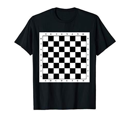 Schachbrett T-Shirt Karneval Fasching Schach Karneval Kostüm