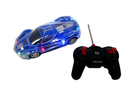 a2bea7aa0 Haktoys Light Up RC Car for Kids, Boys & Girls with Spectacular Flashing  LED Lights