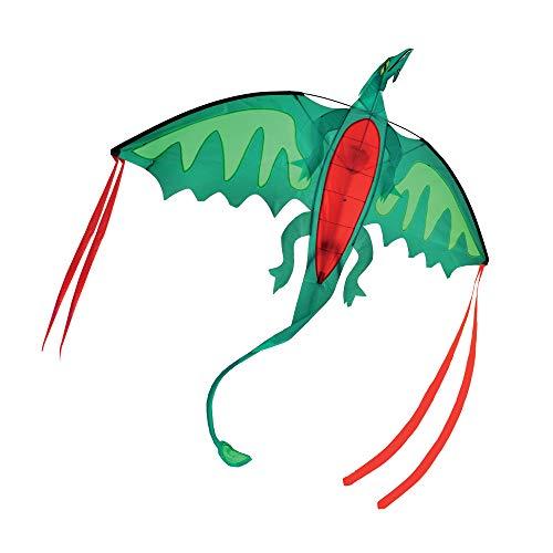 Melissa & Doug- Winged Shaped Kite Cometa con Forma de Dragón Alado, Multicolor (30217)