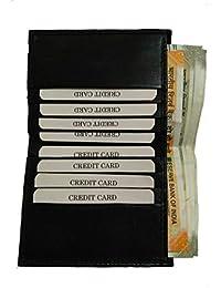 Generic Men's Leather Card Holder Black