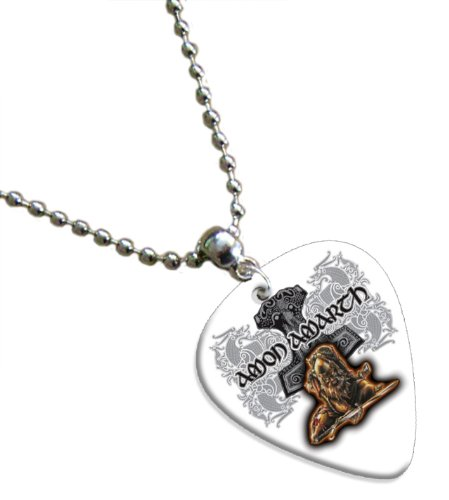 Amon Amarth Chitarra Pick Collana Necklace Band Plettro Plettri