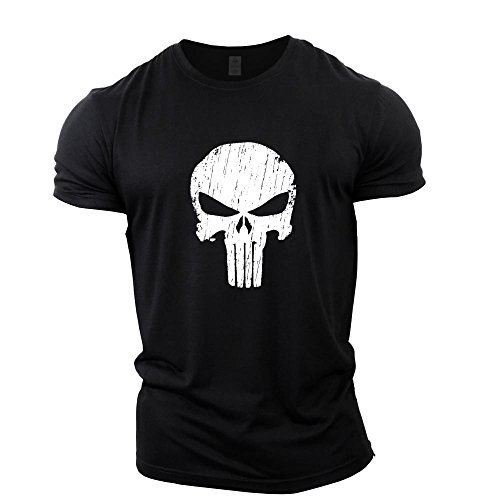 Lauf T Hemd Männer T-shirt Punisher Gym Sport Kurzarm Mma T Captain America Superman T-shirt Fitness Kompression Shirt Attraktive Designs; Sportbekleidung