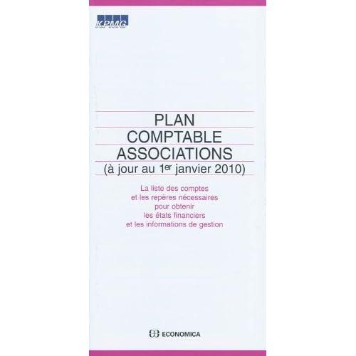 Plan comptable associations (à jour au 1er janvier 2010)