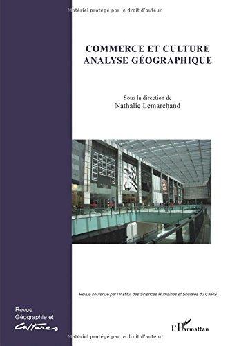 Commerce et Culture Analyse Géographique