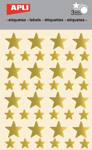apli-pegatinas-estrella-color-oro-3-hojas-apli