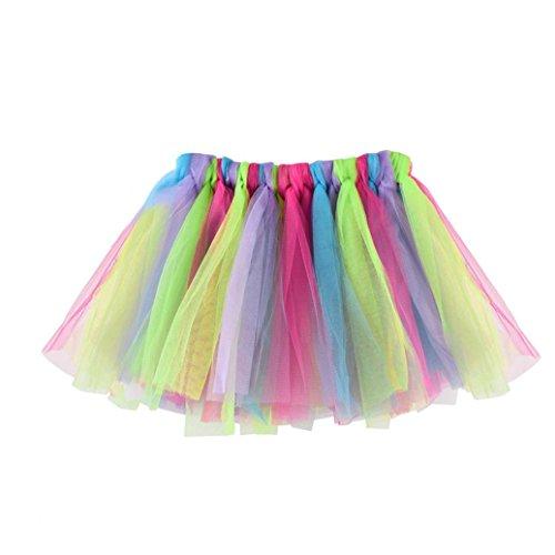 en Modern Ballett Verkleiden Fee Tutu Rock (D) (Fee Kostüm Baby Mädchen)