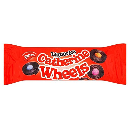 Barratt Liquorice Catherine Wheels (113g)