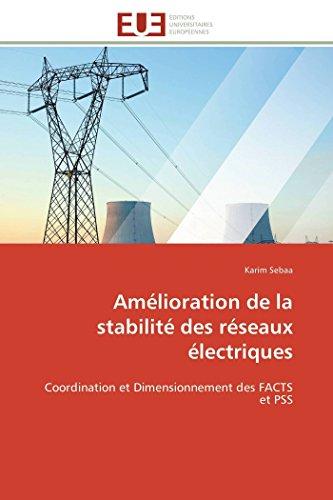 Amélioration de la stabilité des réseaux électriques par Karim Sebaa