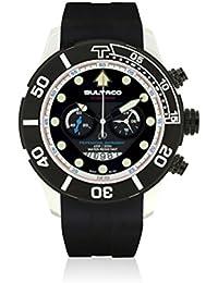 BULTACO Reloj de cuarzo Unisex H1AL48C-IB2-S 48.0 mm