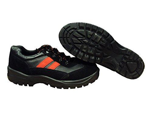 Globe Trotters - Calzado de protección para hombre negro negro UK 7/EURO 41 B7tlX