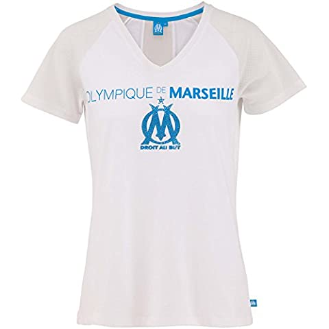 T-shirt OM - Collection officielle Olympique de Marseille - Taille adulte femme XL