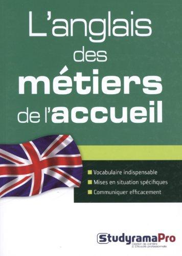 L'anglais des métiers de l'accueil par Pierre Couturier