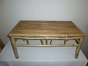 kien Couchtisch,Wohnzimmertisch,BeistelltischGartentisch,Bambustisch,Holztisch