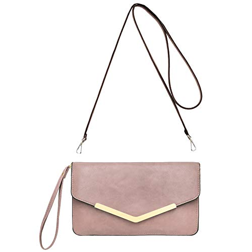 CRAZYCHIC - Grand Portefeuille Long Style Cuir PU -...