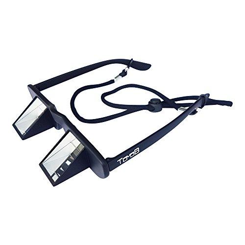 TooB Sicherungsbrille - DIE bezahlbare Kletterbrille mit praktischem Brillenband und extra großem Sichtfenster - für Brillenträger geeignet - inklusive Brillenetui mit Karabiner zum Befestigen am Klettergurt Test