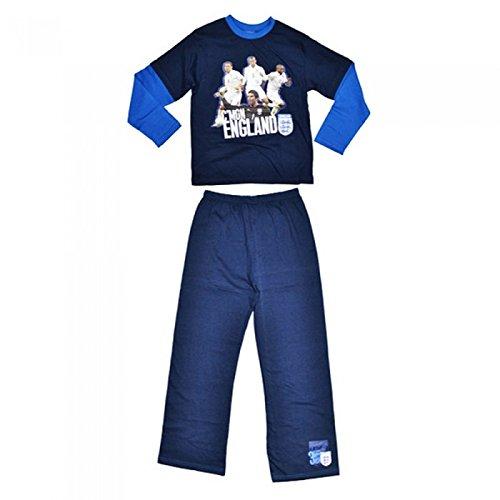 Inglaterra FA – Conjunto de pijama oficial del equipo de fútbol de Inglaterra FA para niños