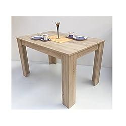 Mesa de comedor, color Sonoma