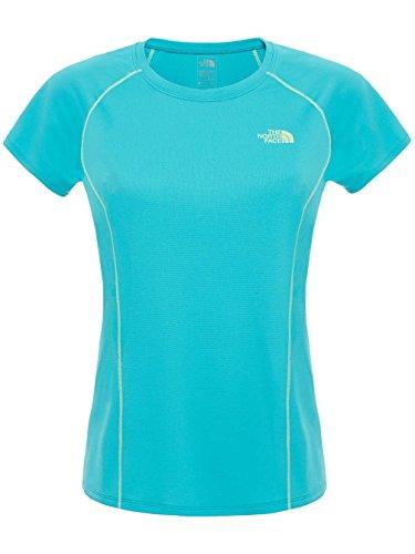 North Face Voltage T-Shirt Manches Courtes Femme Bluebird