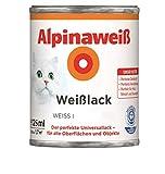 Alpina Weißlack Universallack 125ml weiss extra matt