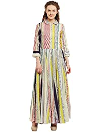Ritu Kumar Label Women's A-Line Maxi Dress