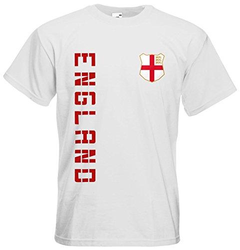 England EM 2016 T-Shirt Trikot Weiß