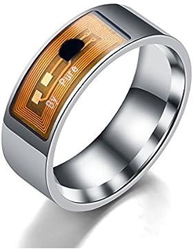 Colorful(TM) NFC Multifunktionale Wasserdichte Intelligente Ring Smart Wear Finger Digital Ring