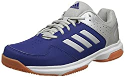 Adidas Mens Quick Force Ind Mysink, Silvmt and Mysink Badminton Shoes - 9 UK/India (43 1/3 EU)(CJ1032)