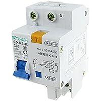 DealMux quebrar a capacidade 1P Leakage Circuit Terra Breaker, AC, 230V, 32 Amp, 6000 Amp