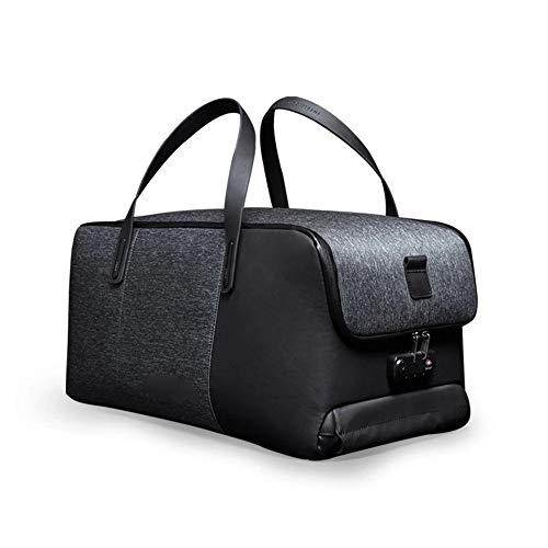 JIAAN Travel USB Wiederaufladbare Handtasche Faltbar Anti-Diebstahl Schultertasche